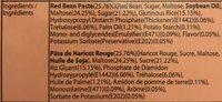 Mochi Haricot Rouge 180G - Ingrédients - fr