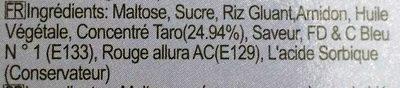 Taro mochi - Ingredients - fr