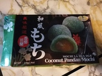 Coconut Pandan Mochi - Product - fr