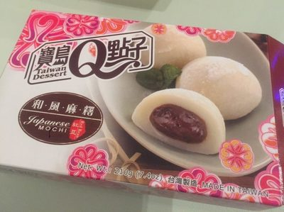 "Japanese mochi ""Red bean"" 210G - Produit - fr"