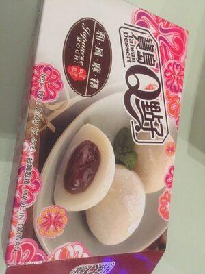 "Japanese mochi ""Red bean"" 210G - Produit - fr"