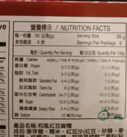 "Japanese mochi ""Red bean"" 210G - Informations nutritionnelles - fr"