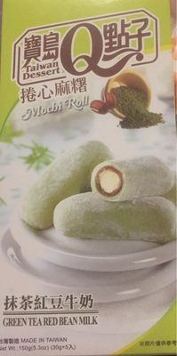 Mochi Roll Green Tea, Red Bean, Milk - Product - fr