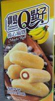 Taiwan Dessert Mochi Roll Banana Milk (5 Pieces) - Produit - fr