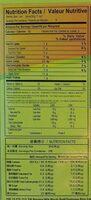 Taiwan Dessert Mochi Roll Banana Milk (5 Pieces) - Informations nutritionnelles - fr