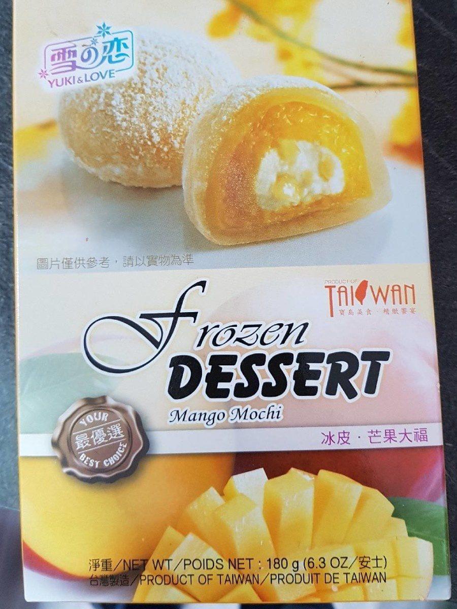 Frozen Dessert Mango Mochi - Produit