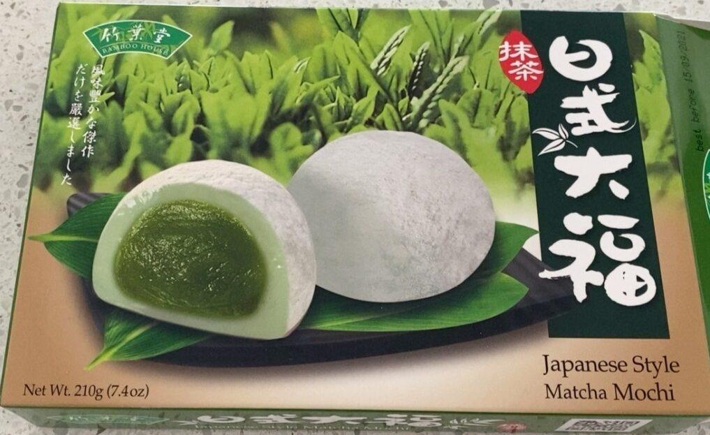 Matcha mochi - Product - en