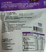 超大紅寶石葡萄乾 - Ingredients - zh
