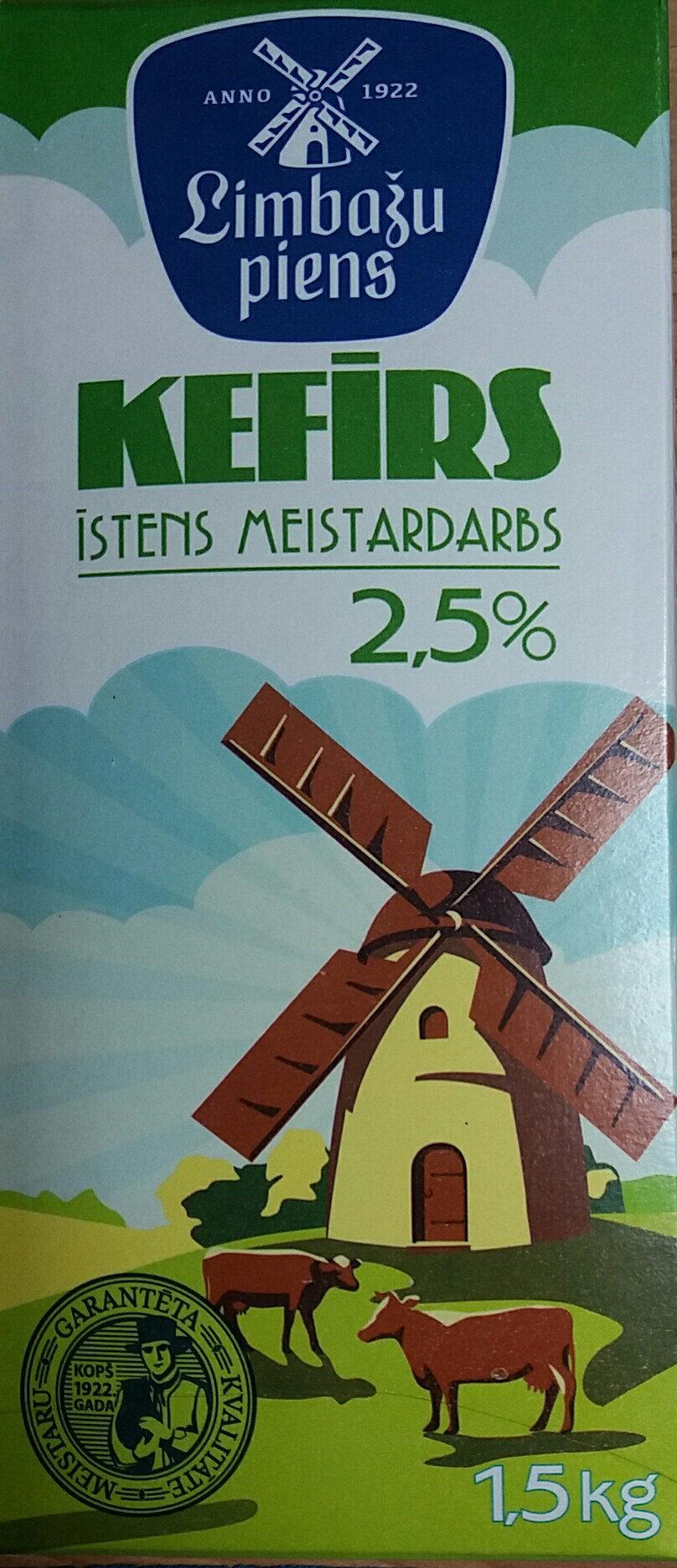 2.5% kefīrs - Product - lv
