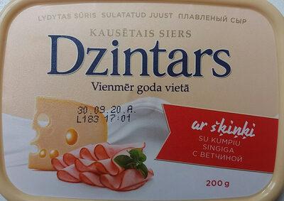 Kausētais siers ar šķiņi - Produit - lv
