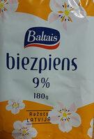9% biezpiens - Produit - lv