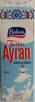 Skābpiena dzēriens turku Ayran - Product - lv