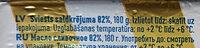 82% saldkrējuma sviests - Ingredients - lv