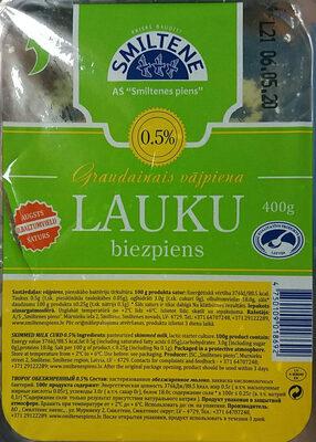 0.5% graudainais vājpiena biezpiens Lauku - Produit - lv