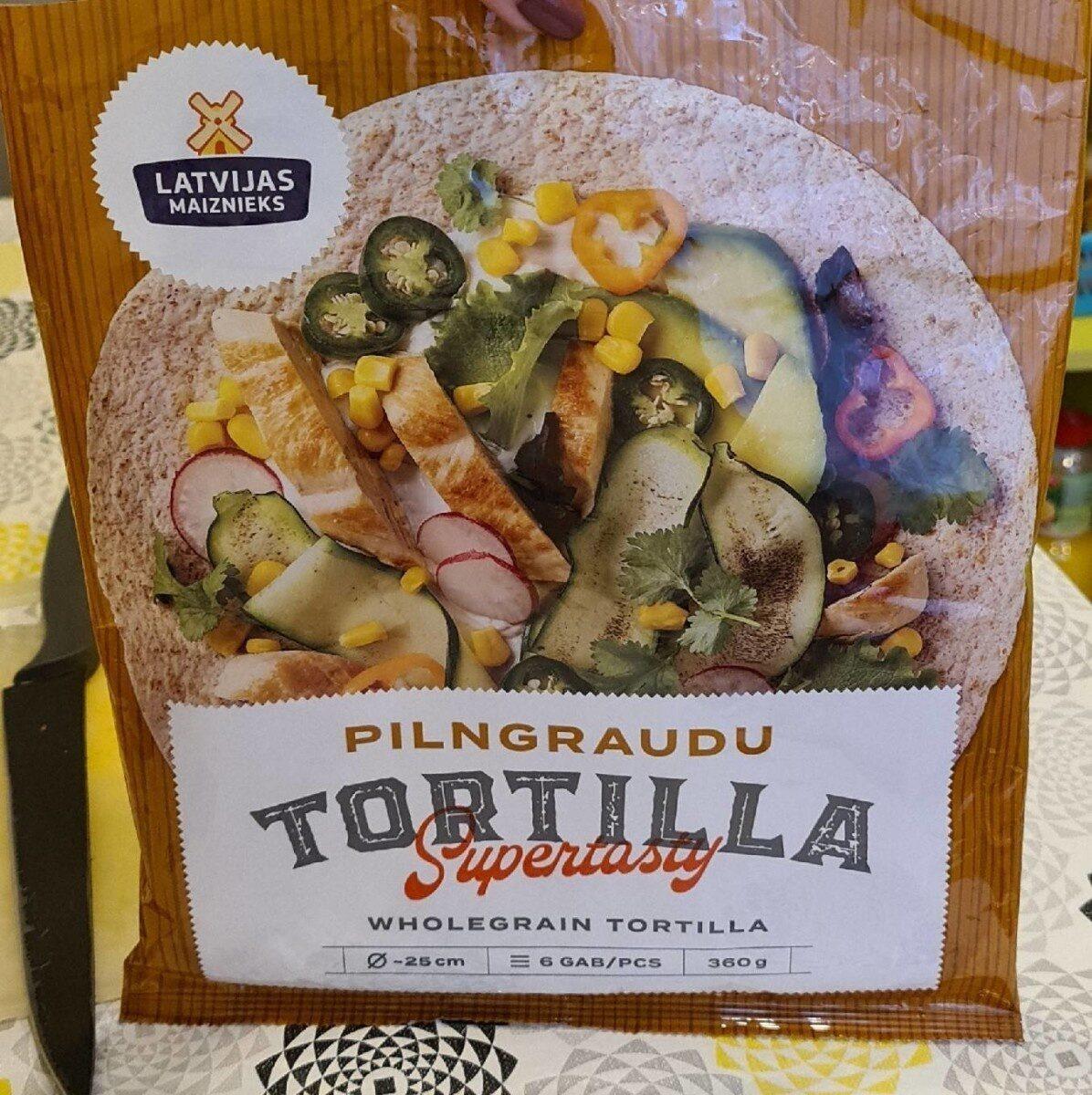 Whole grain tortilla - Prodotto - fr