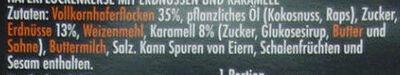Haferflockenkekse - Ingredienti - de