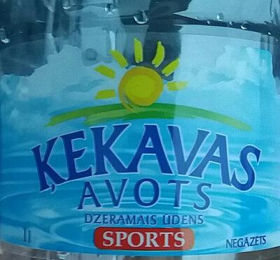 Dzeramais ūdens Sports, negāzēts - Prodotto - lv