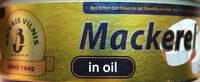 Mackerel in oil - Product - en