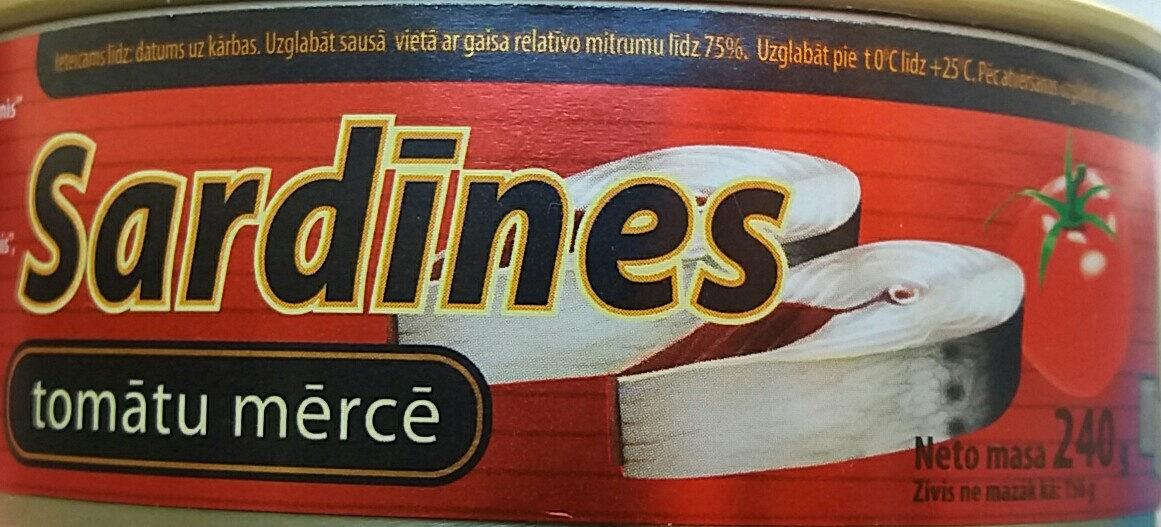 Sardīnes tomātu mērcē - Product - lv