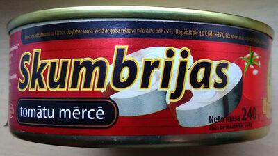 skumbrijas tomātu mērcē - Product - lv