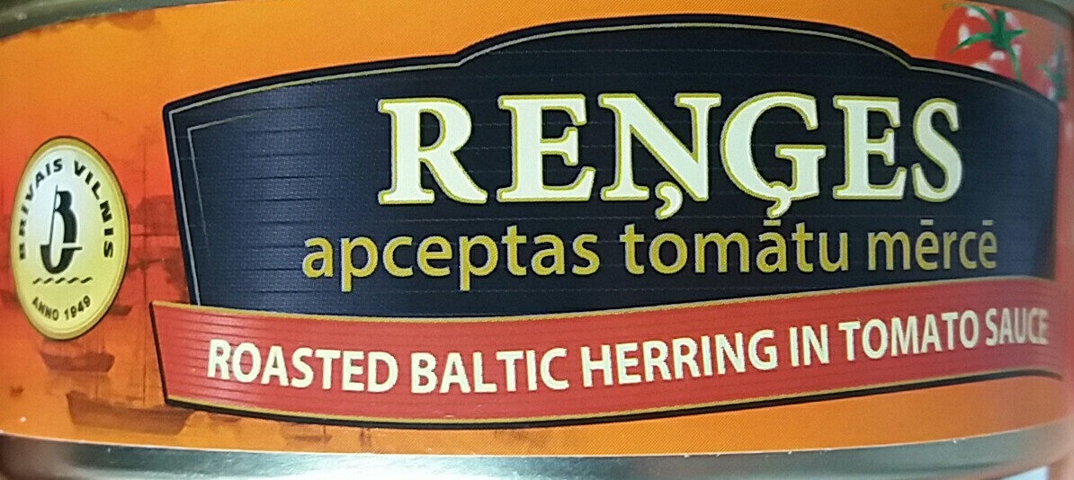 Roasted Baltic Herring in tomato sauce - Product - en