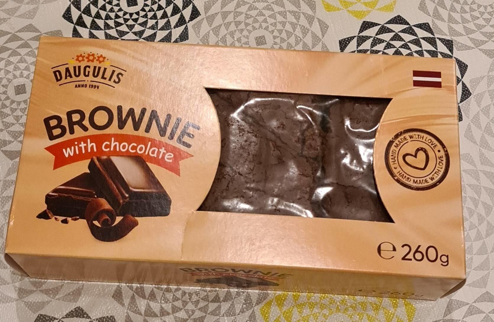 Daugulis brownie with chocolate - Prodotto - fr