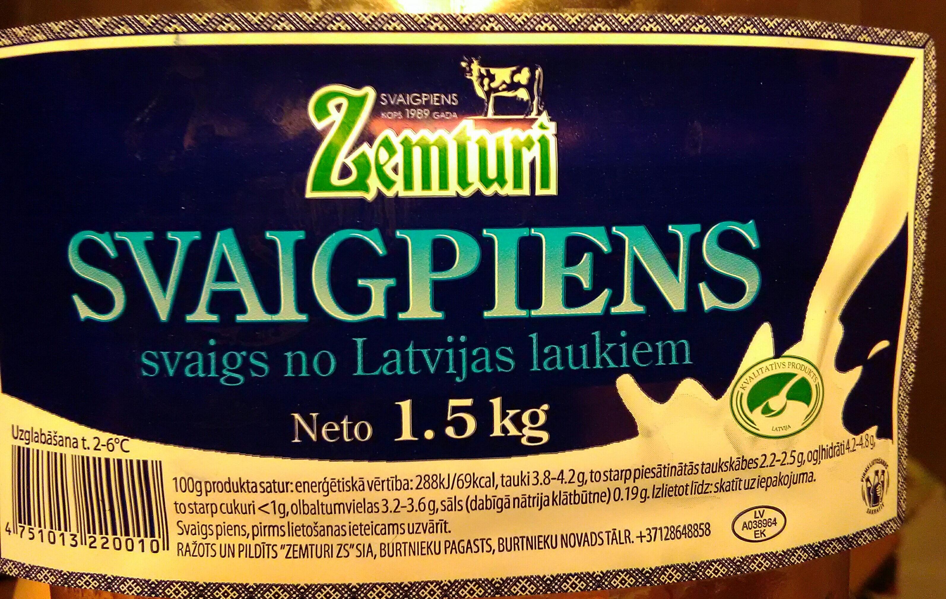Svaigpiens - Product - lv