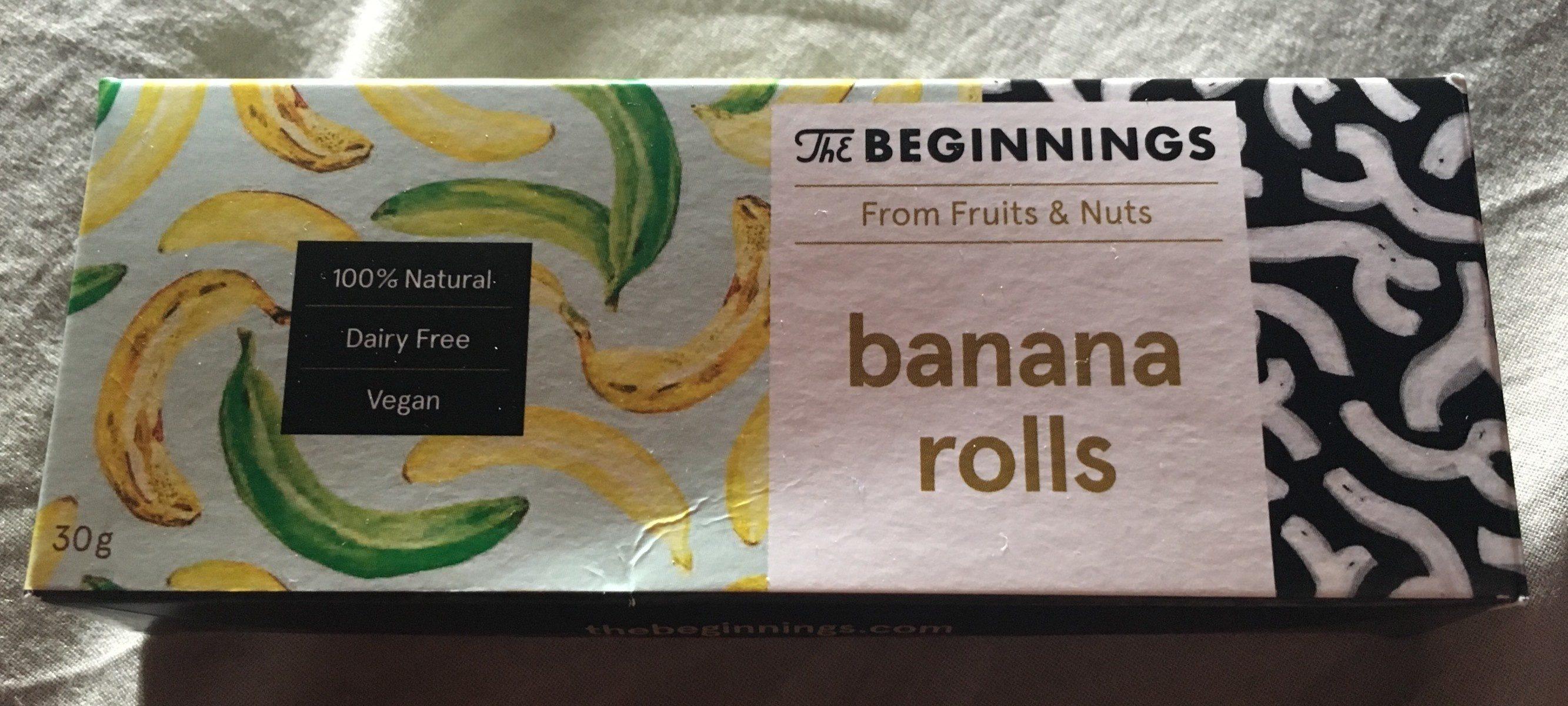 Banana Rolls - Product