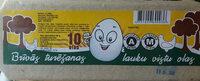 Brīvās turēšanas lauku vistu olas, A, M - Product - lv