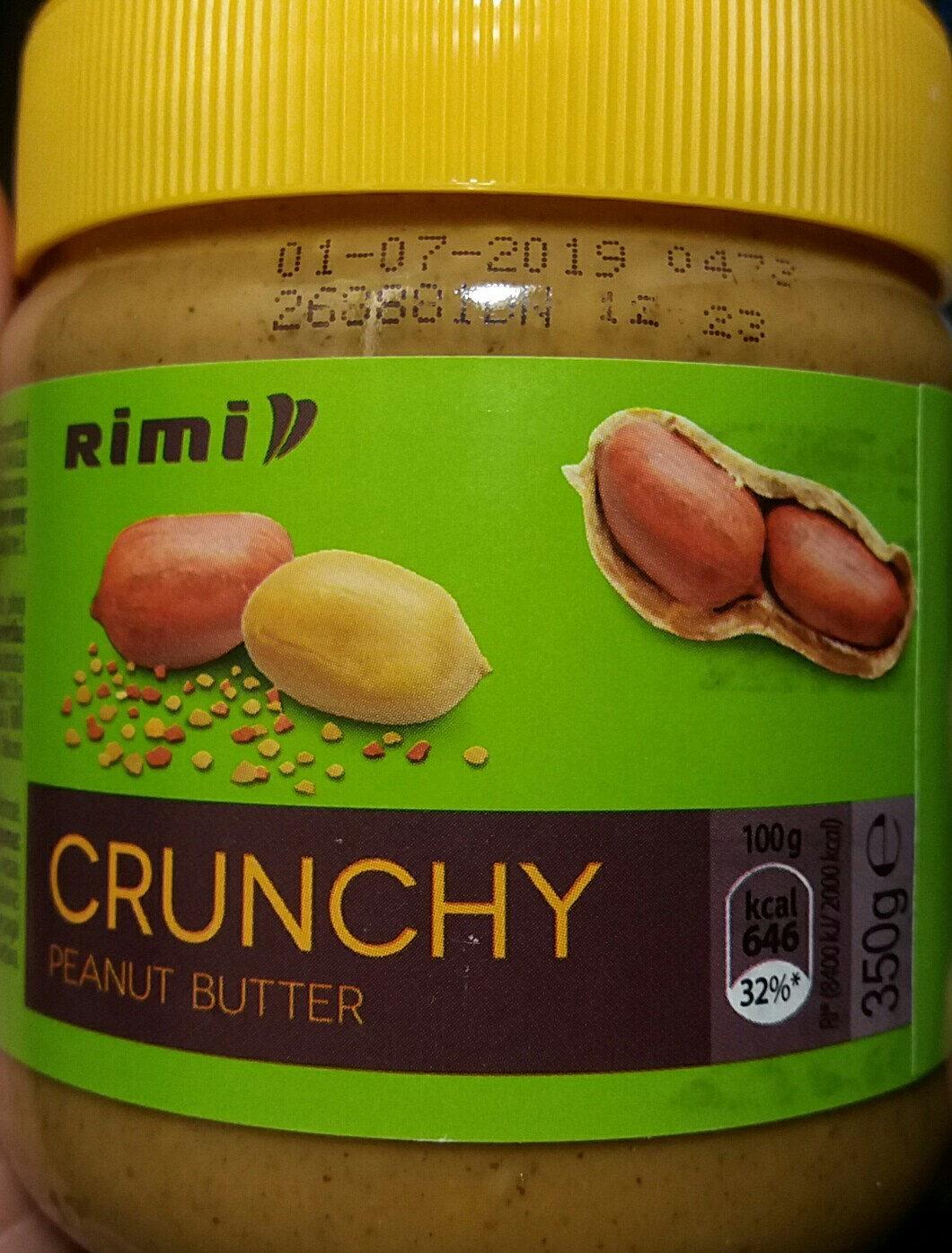 Rimi Crunchy peanut butter - Product - en