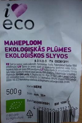 Ekoloģiskās plūmes, Nere, 35mm - Prodotto - lv