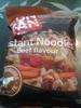Instant noodles beef flavour - Nouilles instantanées saveur bœuf - Product