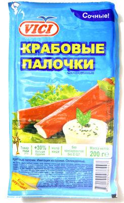 Крабовые палочки - Produit - ru