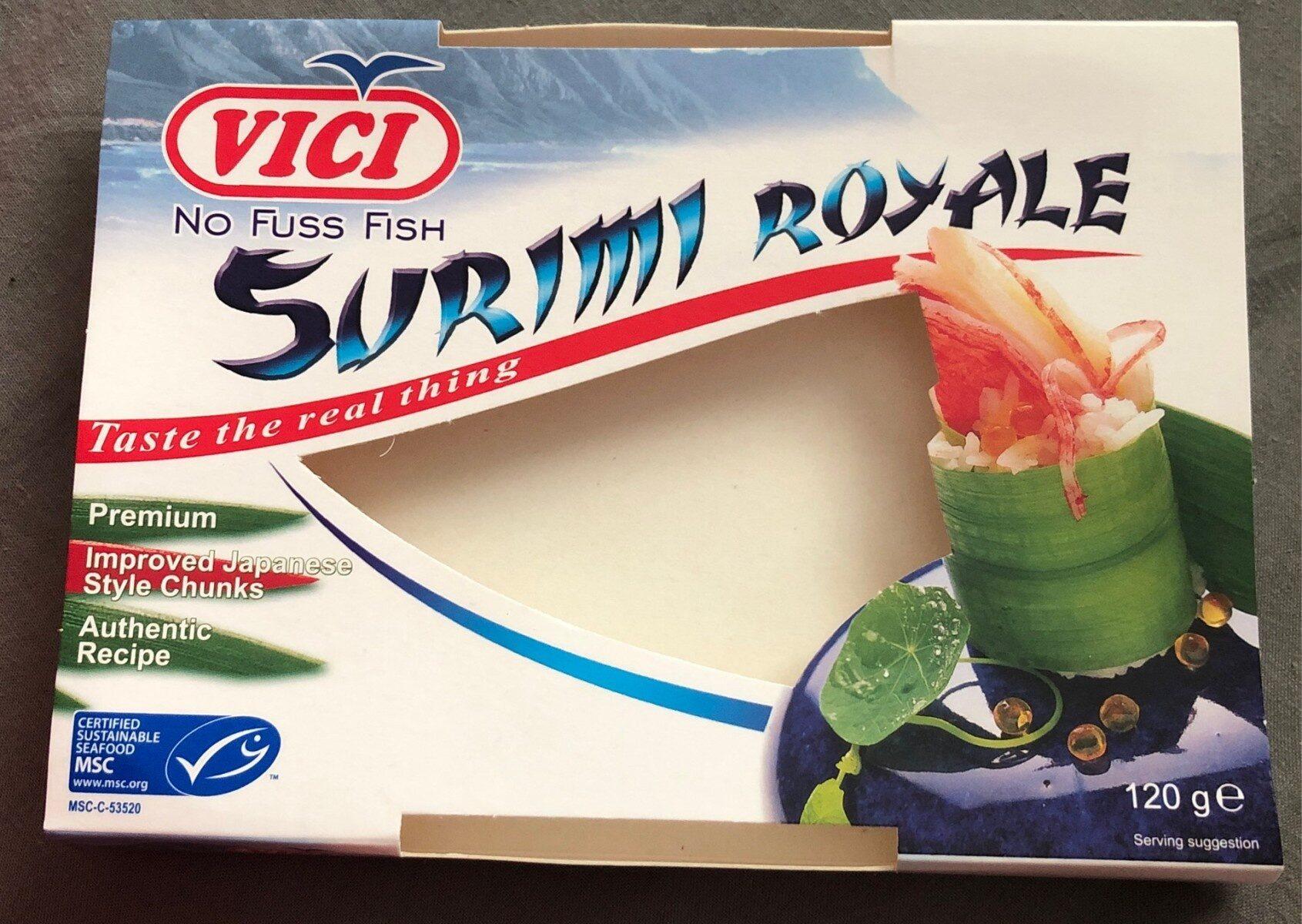 Surimi Royale seafood sticks - Product