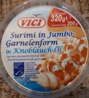 Surimi in jumbo-garnelenform - Produit