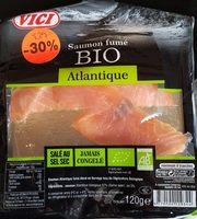 Saumon fumé bio atlantique - Product