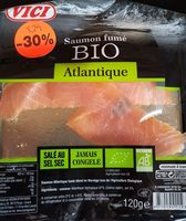 Saumon fumé bio atlantique - Ingredients