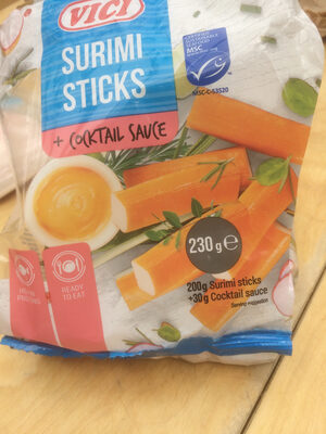 surimi sticks - Produit - fr
