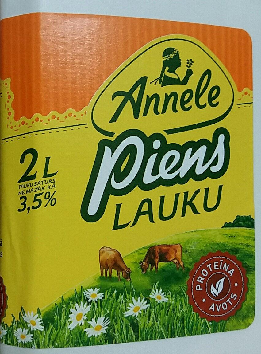 3.5% piens Lauku, pasterizēts - Prodotto - lv