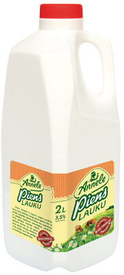 3.5% piens Lauku, pasterizēts - Ingredients - lv