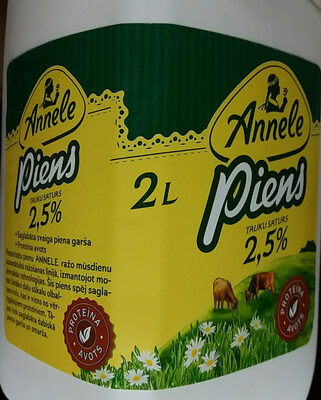 2.5% piens - Product - lv