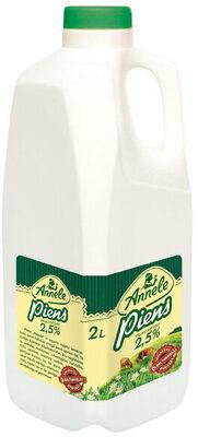 2.5% piens - Ingredienti - lv