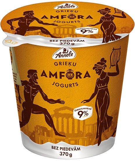 Jogurts Grieķu Amfora, bez piedevām - Product - lv