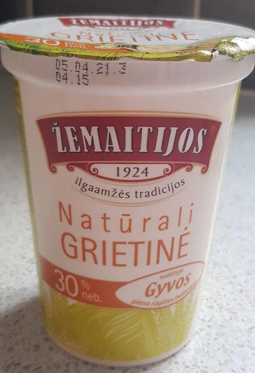 Natūrali Grietinė - Produktas - en