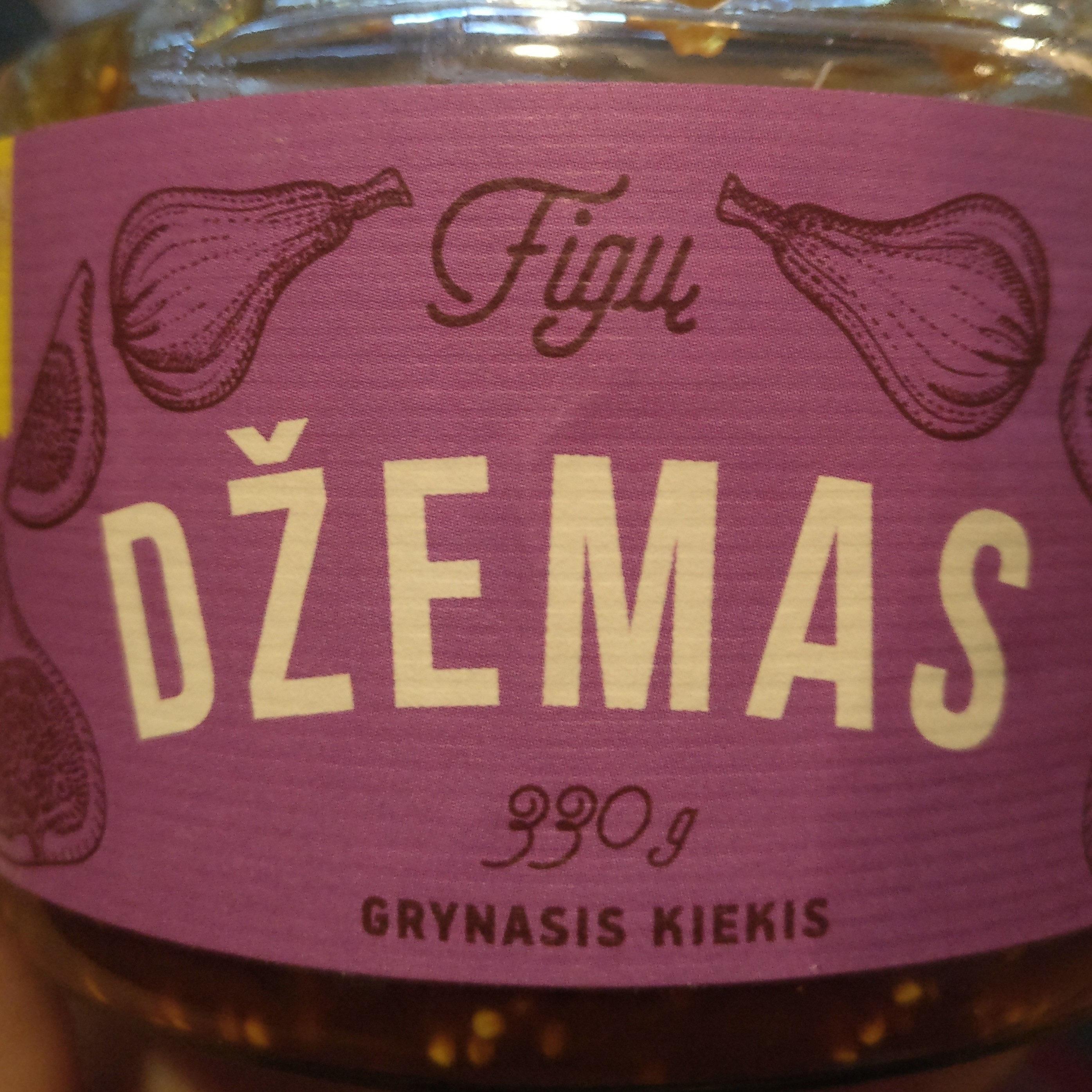 Figų džemas - Produktas - lt