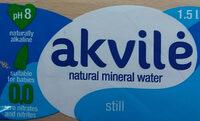 Natural mineral water - Prodotto - en