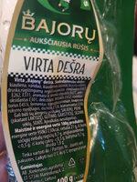 Bajorų Dešra - Produktas - lt