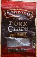 Dried Pork Chips Premium - Produktas - lt