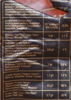 Dried Pork Chips Premium - Nutrition facts - lt