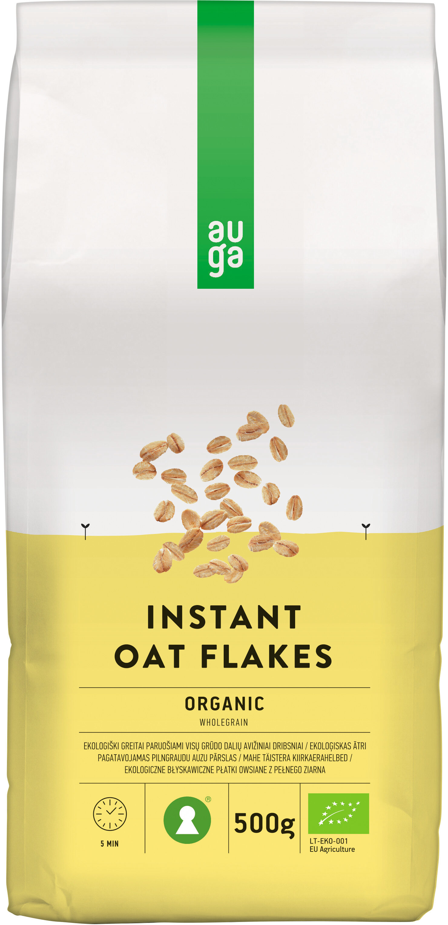 Instant Oat Flakes - Product - en